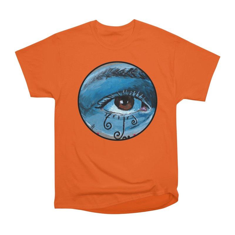 """eye study #1"" redesign Women's Heavyweight Unisex T-Shirt by J. Lavallee's Artist Shop"