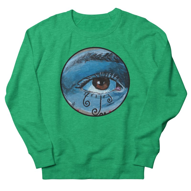 """""""eye study #1"""" redesign Women's French Terry Sweatshirt by J. Lavallee's Artist Shop"""