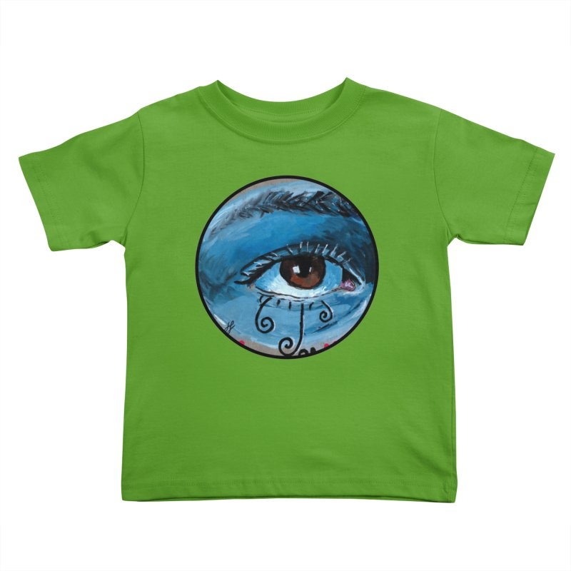 """eye study #1"" redesign Kids Toddler T-Shirt by J. Lavallee's Artist Shop"