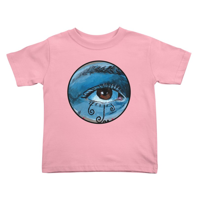 """""""eye study #1"""" redesign Kids Toddler T-Shirt by J. Lavallee's Artist Shop"""