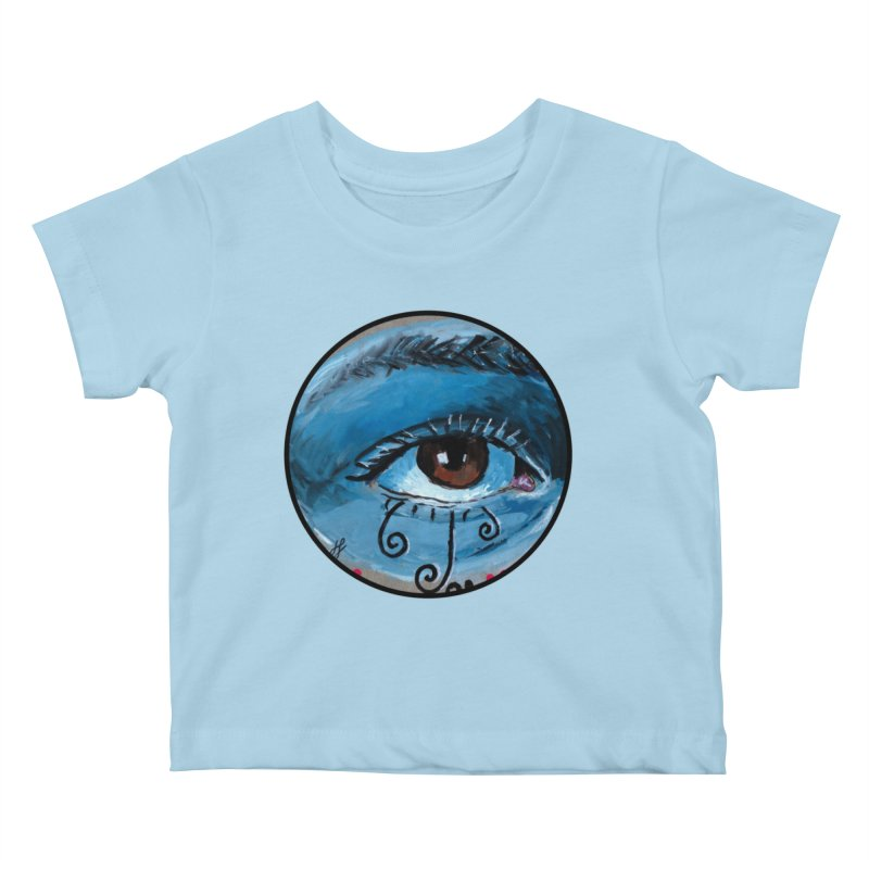 """""""eye study #1"""" redesign Kids Baby T-Shirt by J. Lavallee's Artist Shop"""