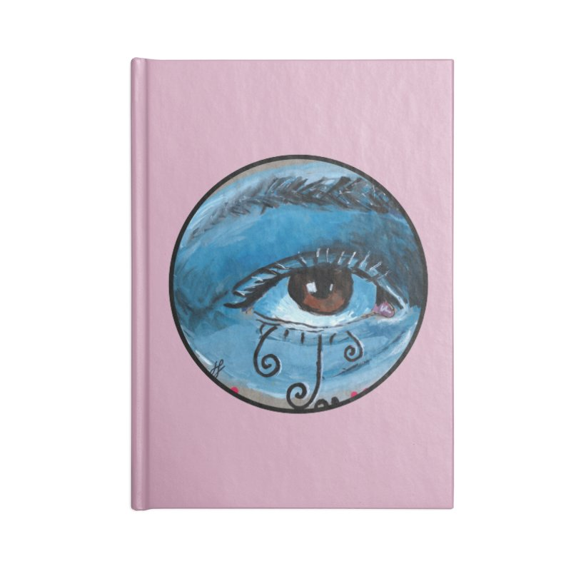 """eye study #1"" redesign Accessories Blank Journal Notebook by J. Lavallee's Artist Shop"