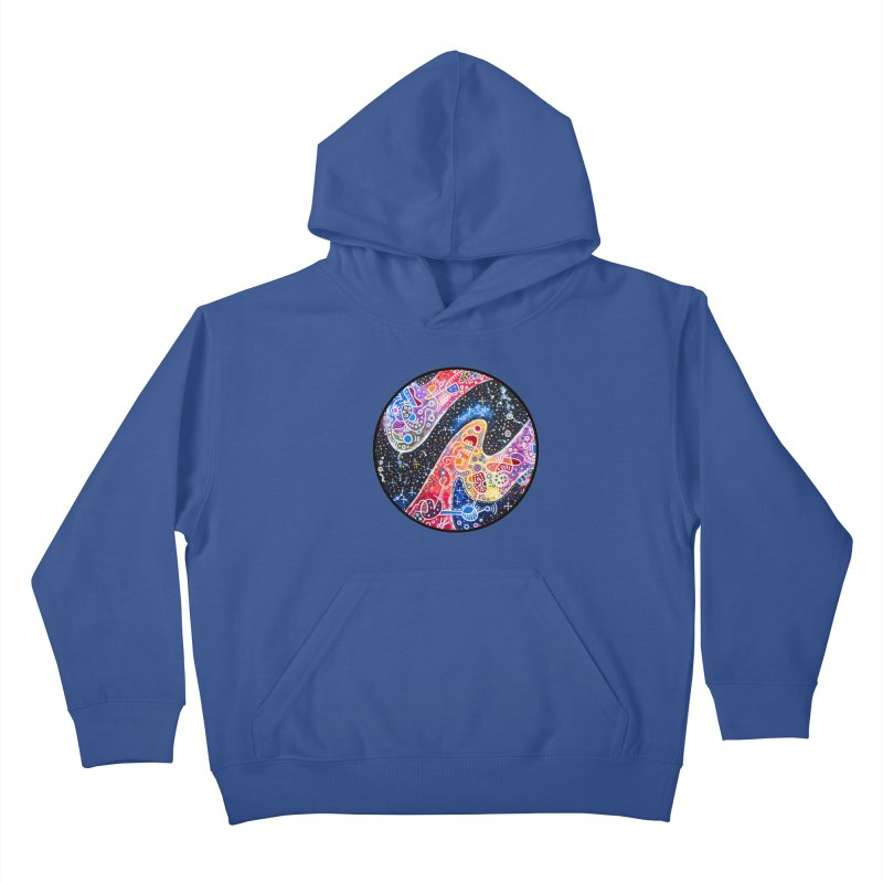 """""""zenith"""" redesign Kids Pullover Hoody by J. Lavallee's Artist Shop"""