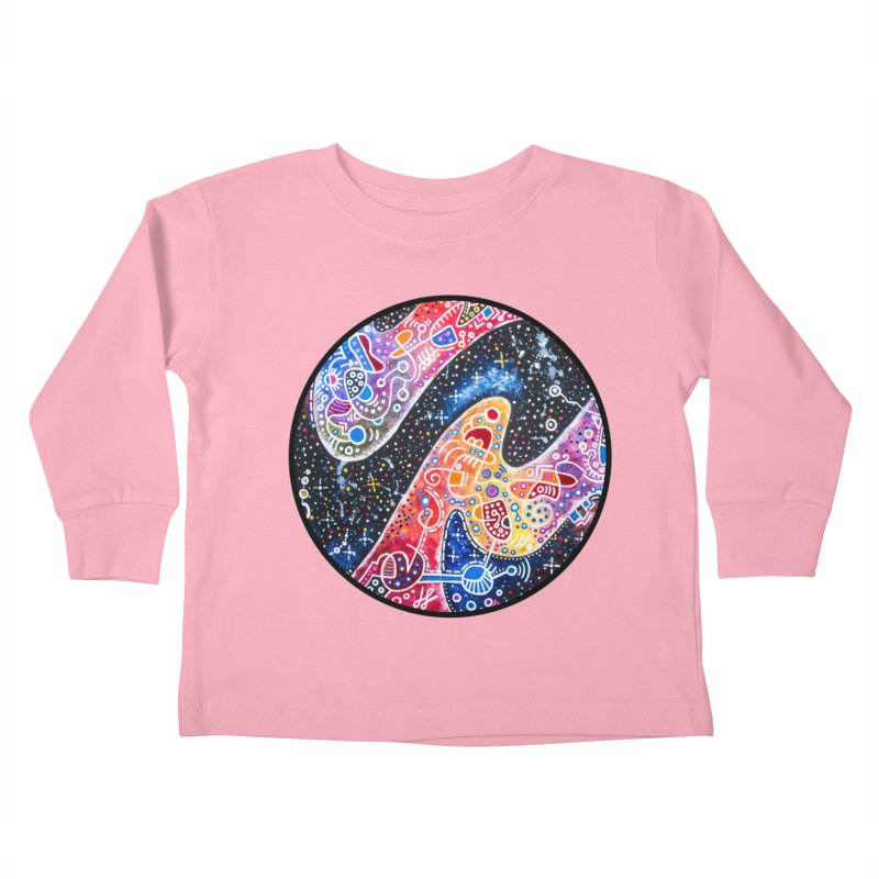 """zenith"" redesign Kids Toddler Longsleeve T-Shirt by J. Lavallee's Artist Shop"