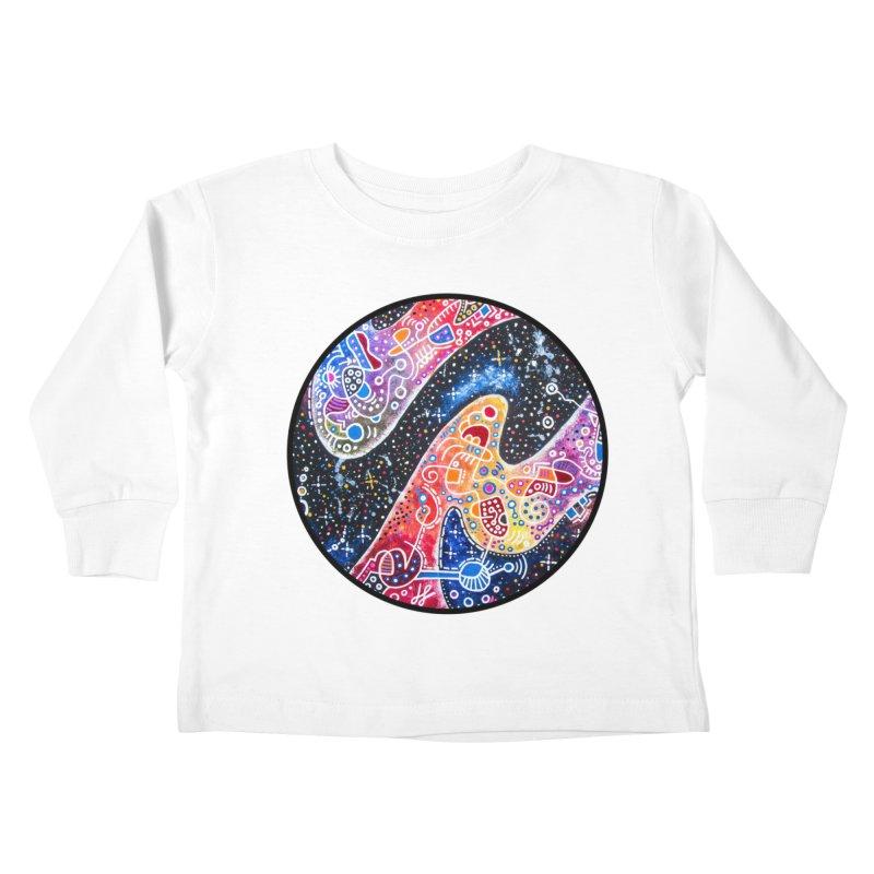 """zenith"" redesign Kids Toddler Longsleeve T-Shirt by J. Lavallee's Artist Shop"