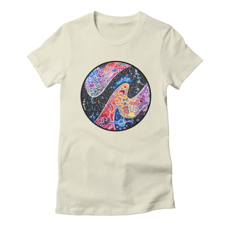 """zenith"" redesign Women's Fitted T-Shirt by J. Lavallee's Artist Shop"