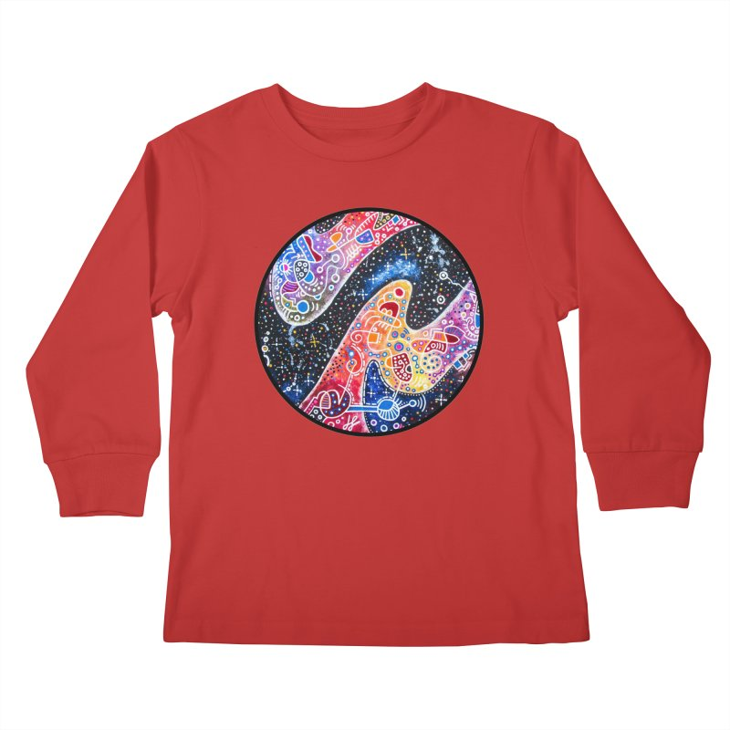 """zenith"" redesign Kids Longsleeve T-Shirt by J. Lavallee's Artist Shop"