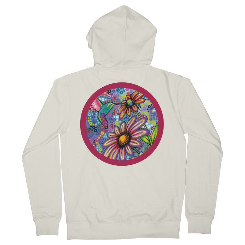 """summertime"" redesign Women's French Terry Zip-Up Hoody by J. Lavallee's Artist Shop"