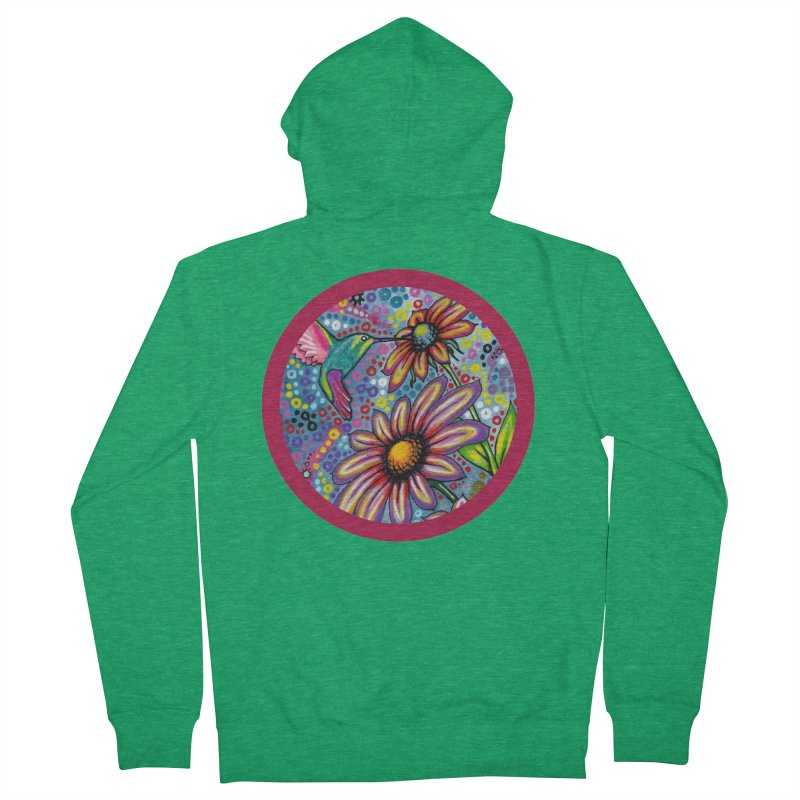 """summertime"" redesign Men's French Terry Zip-Up Hoody by J. Lavallee's Artist Shop"