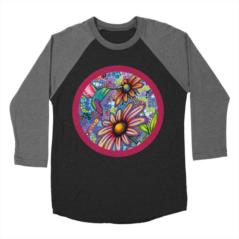 """summertime"" redesign Women's Baseball Triblend Longsleeve T-Shirt by J. Lavallee's Artist Shop"