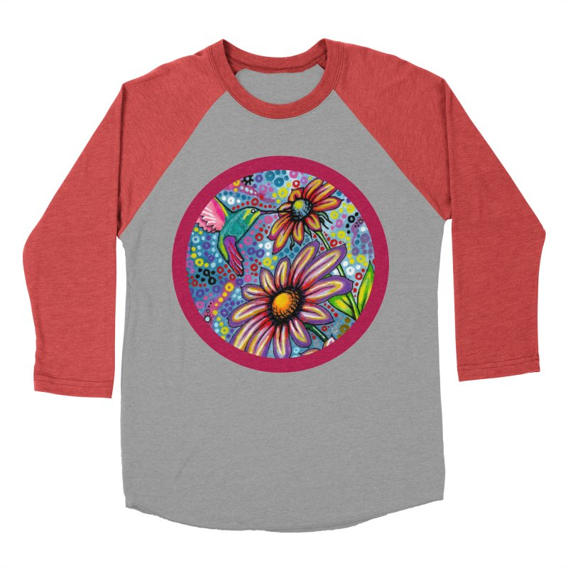 """summertime"" redesign Men's Baseball Triblend Longsleeve T-Shirt by J. Lavallee's Artist Shop"