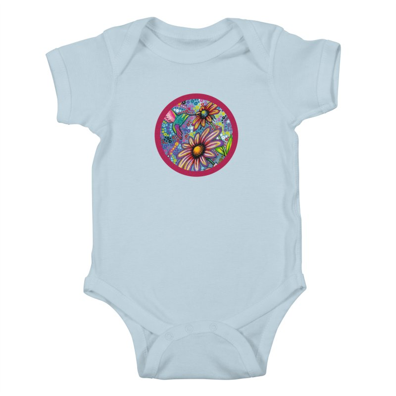 """summertime"" redesign Kids Baby Bodysuit by J. Lavallee's Artist Shop"
