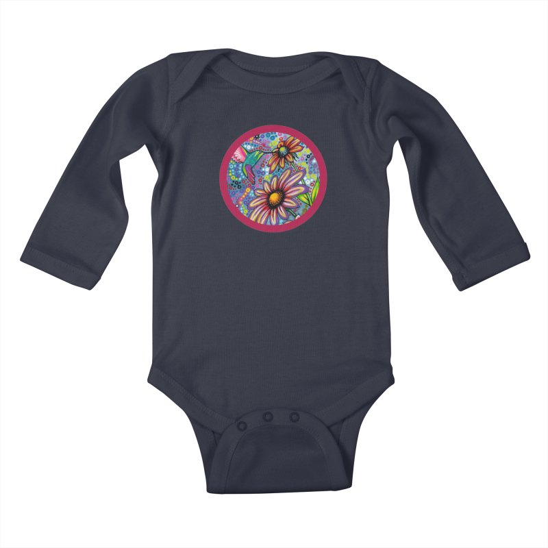 """summertime"" redesign Kids Baby Longsleeve Bodysuit by J. Lavallee's Artist Shop"