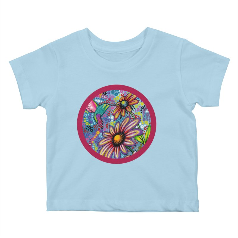"""""""summertime"""" redesign Kids Baby T-Shirt by J. Lavallee's Artist Shop"""