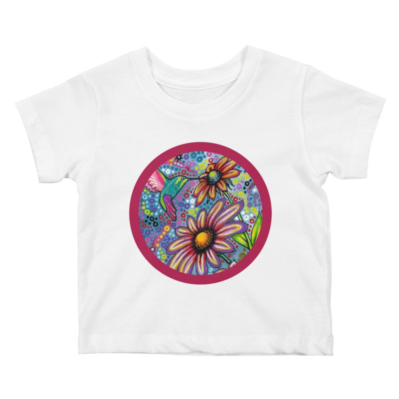 """summertime"" redesign Kids Baby T-Shirt by J. Lavallee's Artist Shop"