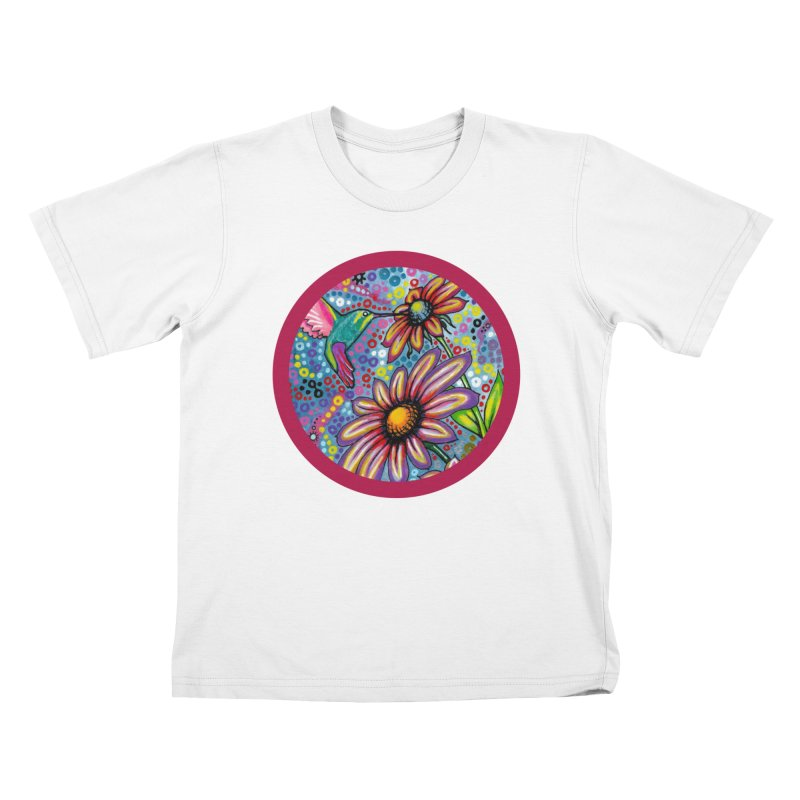 """summertime"" redesign Kids T-Shirt by J. Lavallee's Artist Shop"