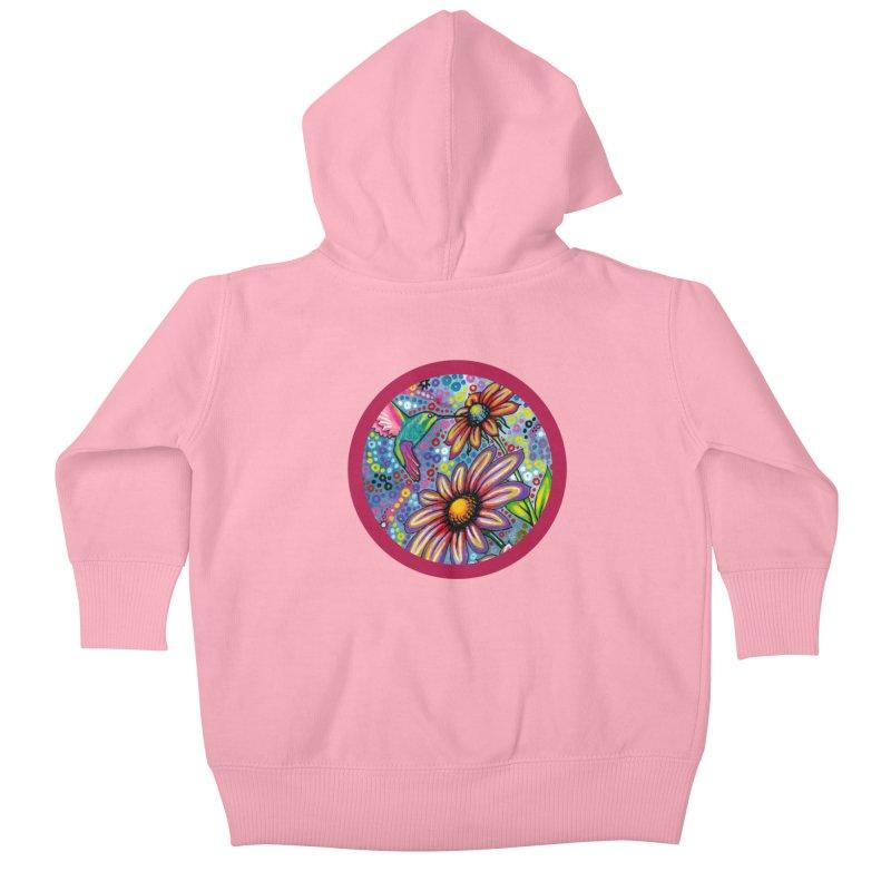 """summertime"" redesign Kids Baby Zip-Up Hoody by J. Lavallee's Artist Shop"