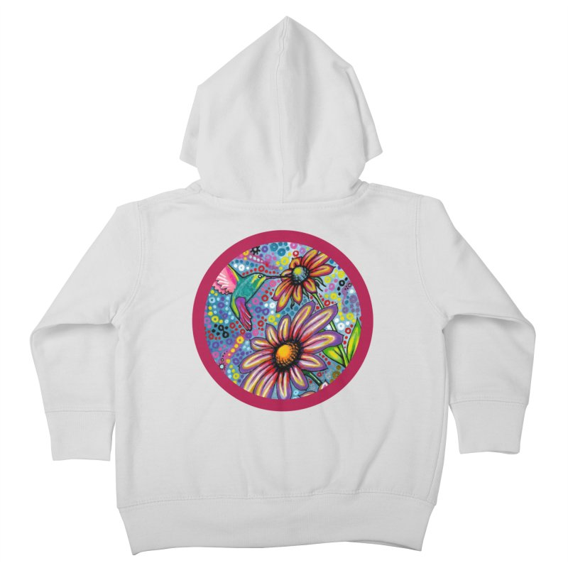 """summertime"" redesign Kids Toddler Zip-Up Hoody by J. Lavallee's Artist Shop"