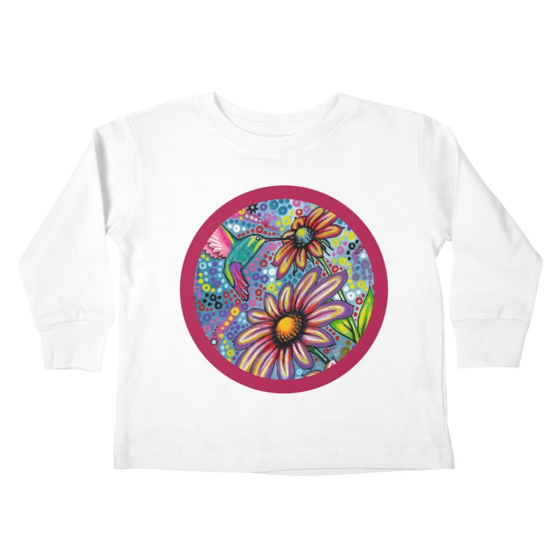 """summertime"" redesign Kids Toddler Longsleeve T-Shirt by J. Lavallee's Artist Shop"