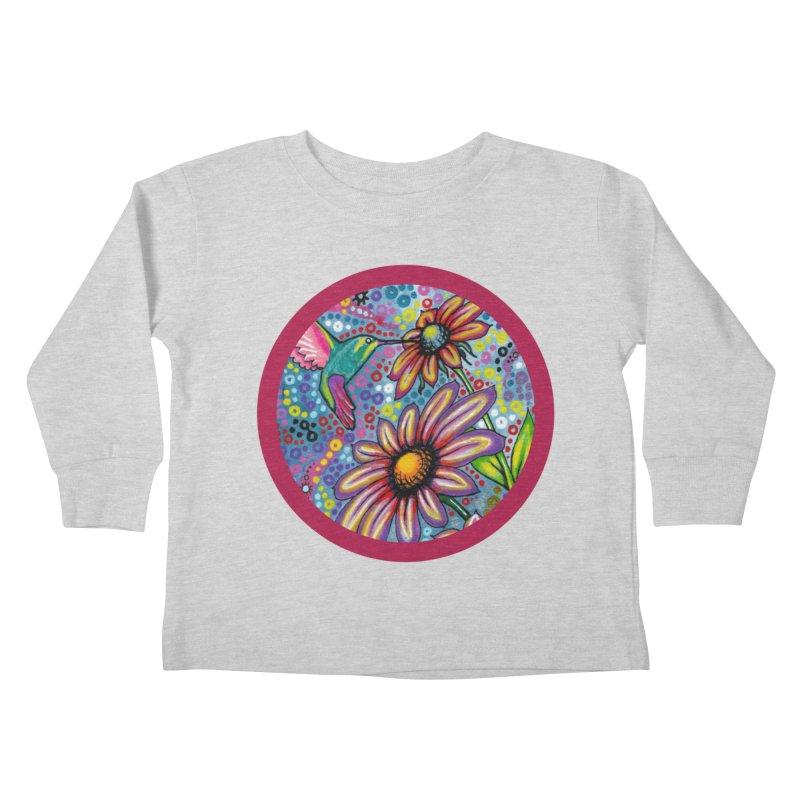 """summertime"" redesign Kids Toddler Longsleeve T-Shirt by J. Lavallee's Artist Shop"