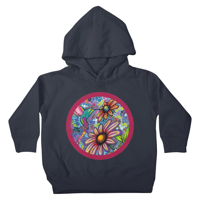 """""""summertime"""" redesign Kids Toddler Pullover Hoody by J. Lavallee's Artist Shop"""
