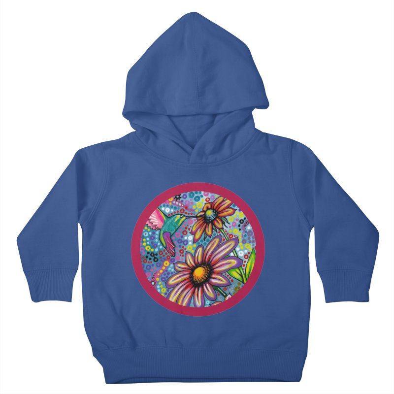 """summertime"" redesign Kids Toddler Pullover Hoody by J. Lavallee's Artist Shop"
