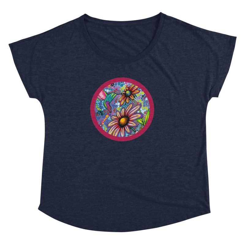 """summertime"" redesign Women's Dolman Scoop Neck by J. Lavallee's Artist Shop"