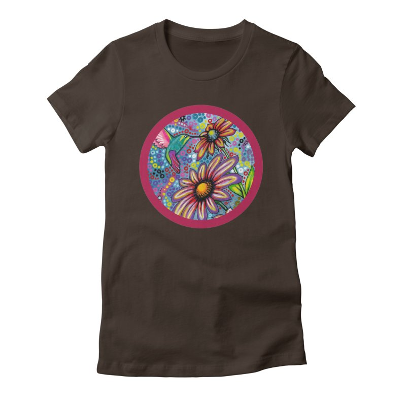 """""""summertime"""" redesign Women's Fitted T-Shirt by J. Lavallee's Artist Shop"""