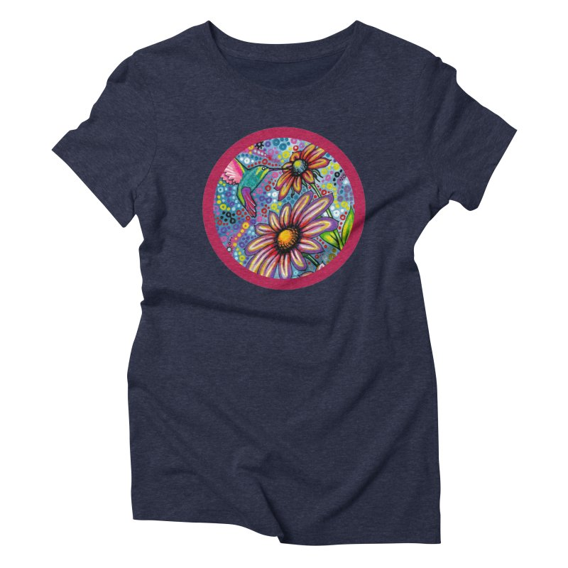 """summertime"" redesign Women's Triblend T-Shirt by J. Lavallee's Artist Shop"