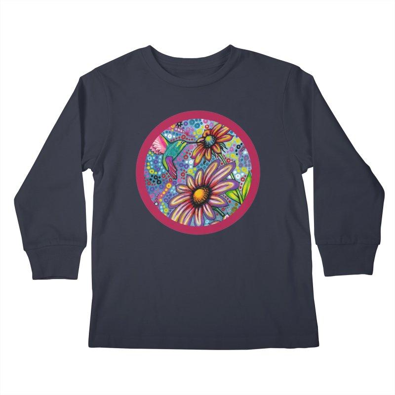 """summertime"" redesign Kids Longsleeve T-Shirt by J. Lavallee's Artist Shop"