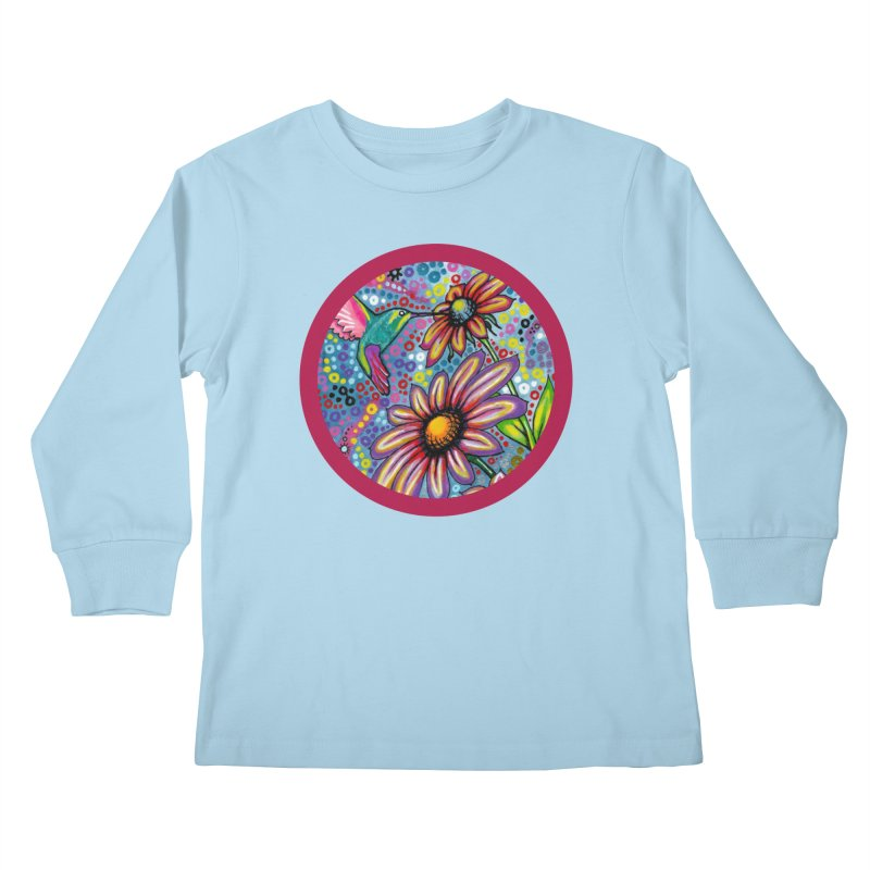 """summertime"" redesign Kids Longsleeve T-Shirt by J. Lavallee's Artist Shop"