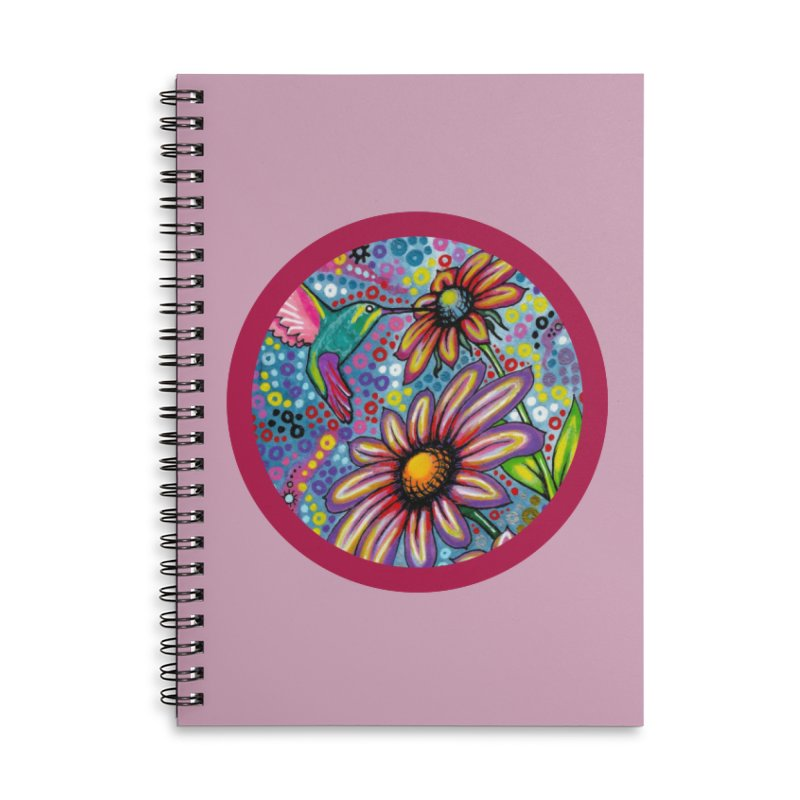 """summertime"" redesign Accessories Lined Spiral Notebook by J. Lavallee's Artist Shop"