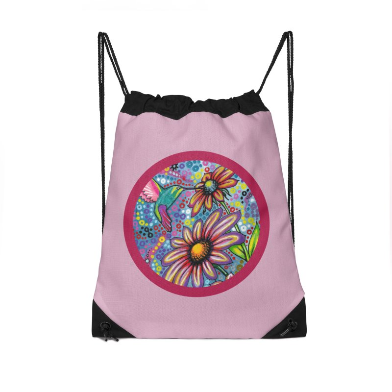 """""""summertime"""" redesign Accessories Drawstring Bag Bag by J. Lavallee's Artist Shop"""