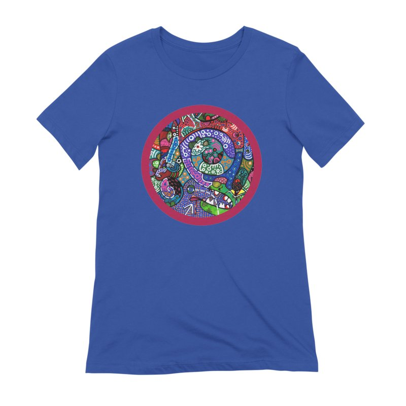 """""""the alligator in the garden"""" redesign Women's Extra Soft T-Shirt by J. Lavallee's Artist Shop"""
