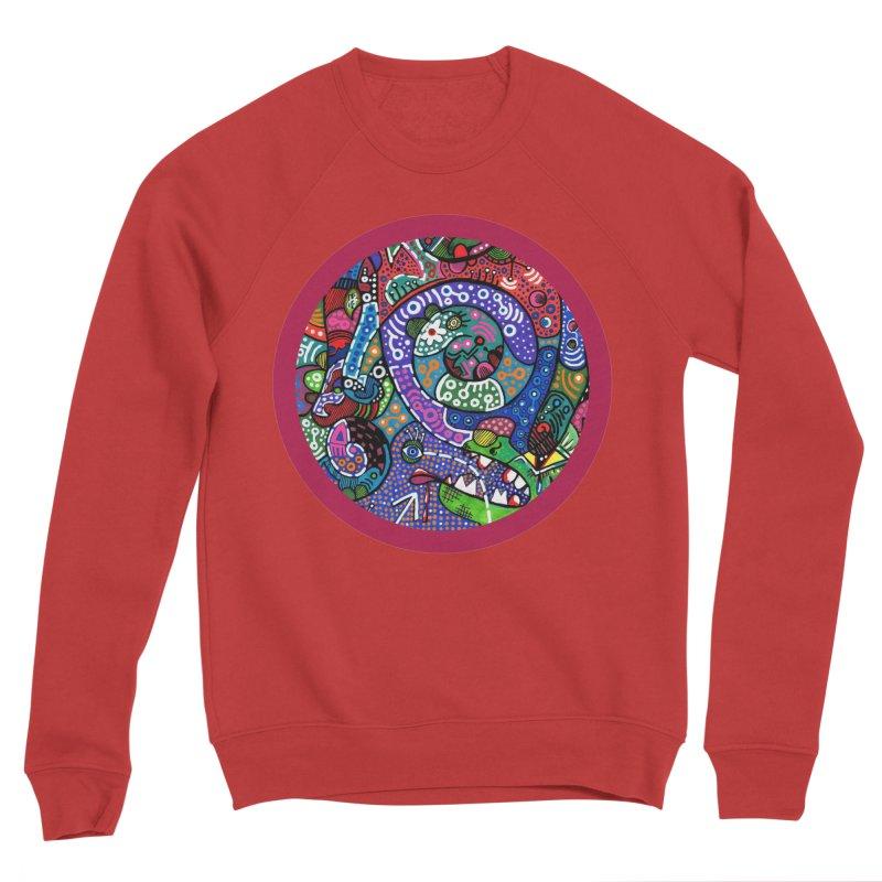 """""""the alligator in the garden"""" redesign Women's Sponge Fleece Sweatshirt by J. Lavallee's Artist Shop"""