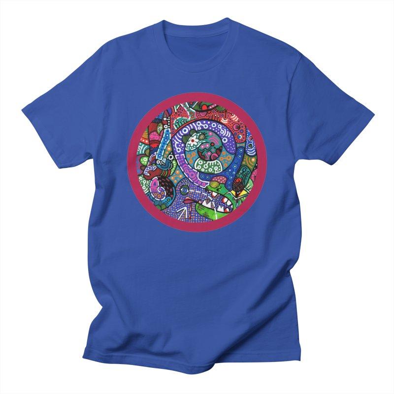 """the alligator in the garden"" redesign Men's Regular T-Shirt by J. Lavallee's Artist Shop"