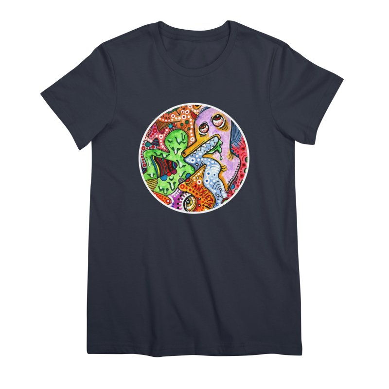 """anxiety"" redesign Women's Premium T-Shirt by J. Lavallee's Artist Shop"