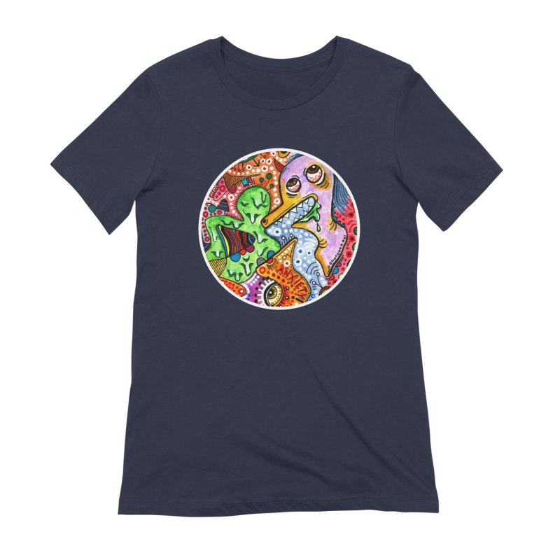 """anxiety"" redesign Women's Extra Soft T-Shirt by J. Lavallee's Artist Shop"