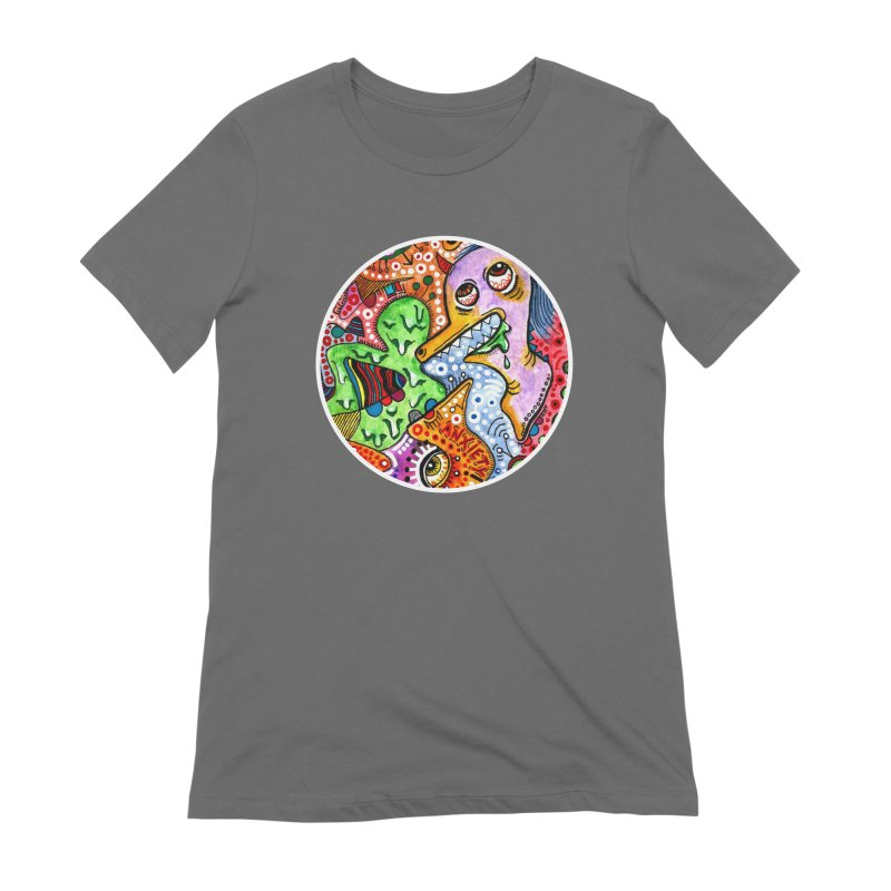"""""""anxiety"""" redesign Women's Extra Soft T-Shirt by J. Lavallee's Artist Shop"""