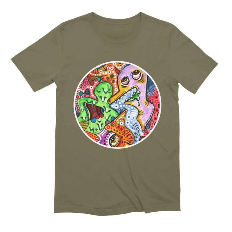 """anxiety"" redesign Men's Extra Soft T-Shirt by J. Lavallee's Artist Shop"