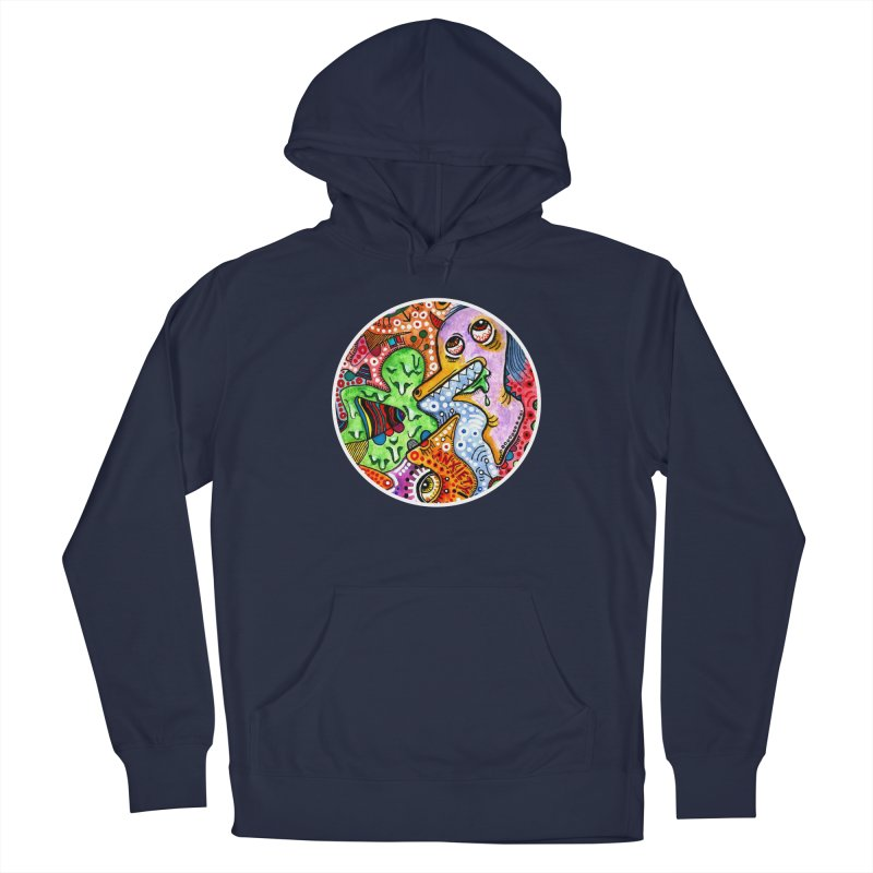 """anxiety"" redesign Men's Pullover Hoody by J. Lavallee's Artist Shop"