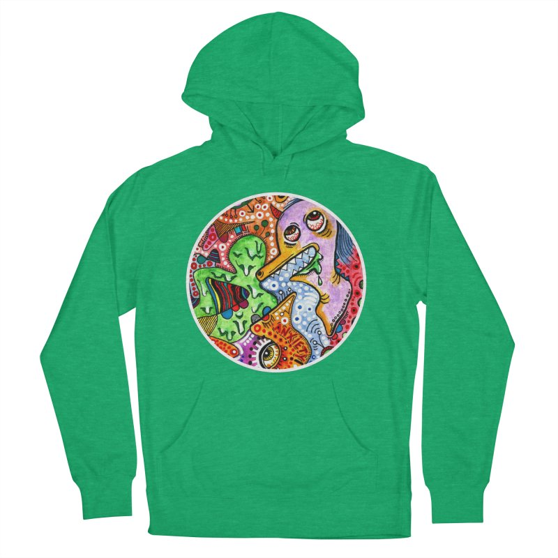 """""""anxiety"""" redesign Men's French Terry Pullover Hoody by J. Lavallee's Artist Shop"""