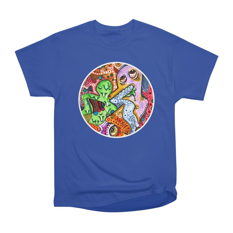"""""""anxiety"""" redesign Men's Heavyweight T-Shirt by J. Lavallee's Artist Shop"""