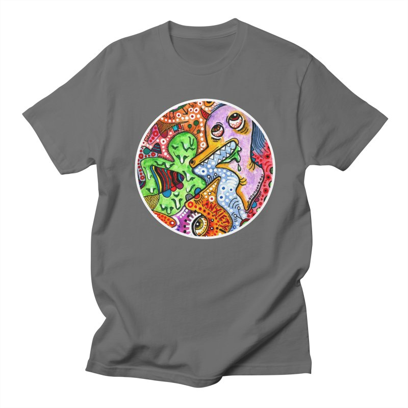 """anxiety"" redesign Men's T-Shirt by J. Lavallee's Artist Shop"