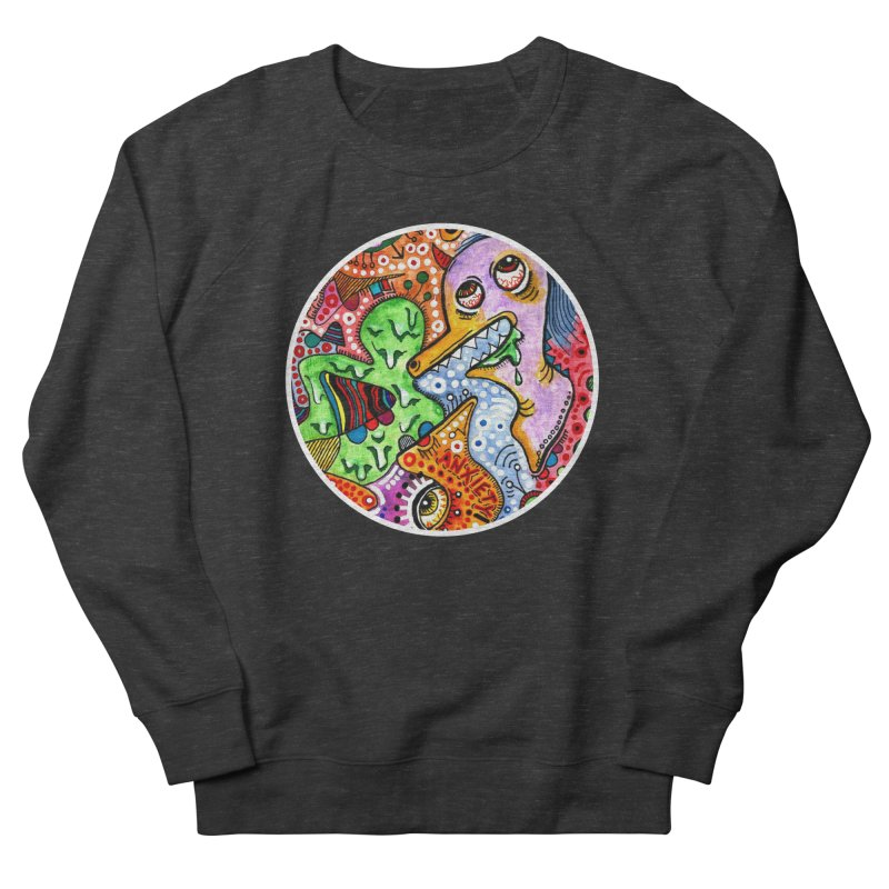 """""""anxiety"""" redesign Women's French Terry Sweatshirt by J. Lavallee's Artist Shop"""