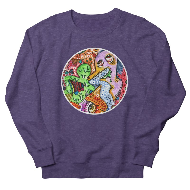 """anxiety"" redesign Men's French Terry Sweatshirt by J. Lavallee's Artist Shop"