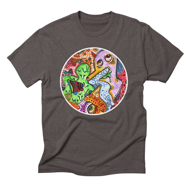 """""""anxiety"""" redesign Men's Triblend T-Shirt by J. Lavallee's Artist Shop"""