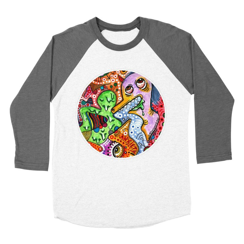 """anxiety"" redesign Women's Longsleeve T-Shirt by J. Lavallee's Artist Shop"