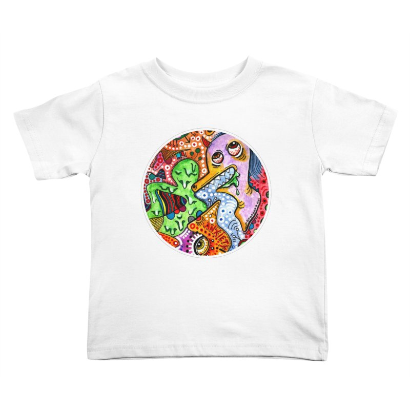 """anxiety"" redesign Kids Toddler T-Shirt by J. Lavallee's Artist Shop"