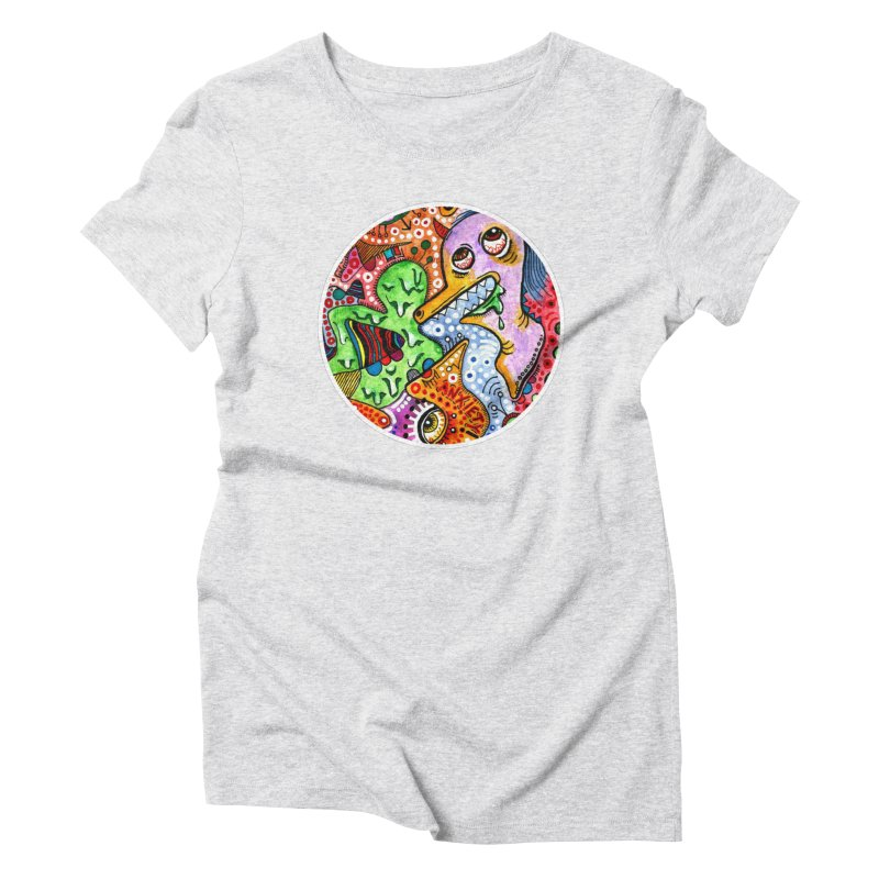 """anxiety"" redesign Women's T-Shirt by J. Lavallee's Artist Shop"